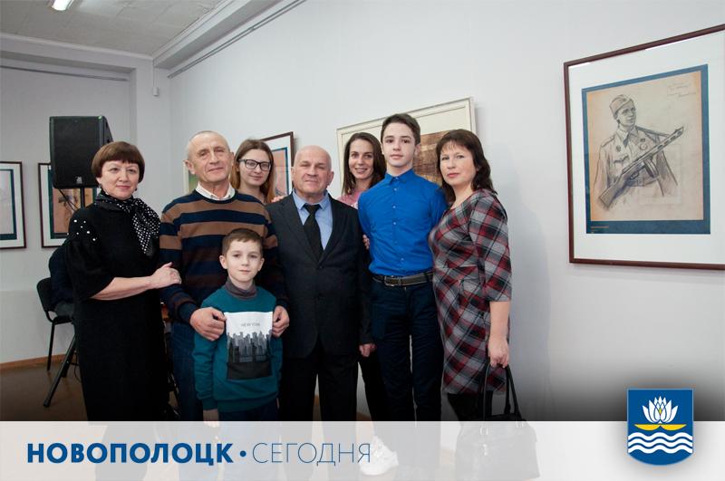 Сыновья ефрейтора Максима Кункеса с семьями