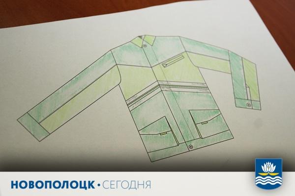 Модели одежды Виталий рисует сам
