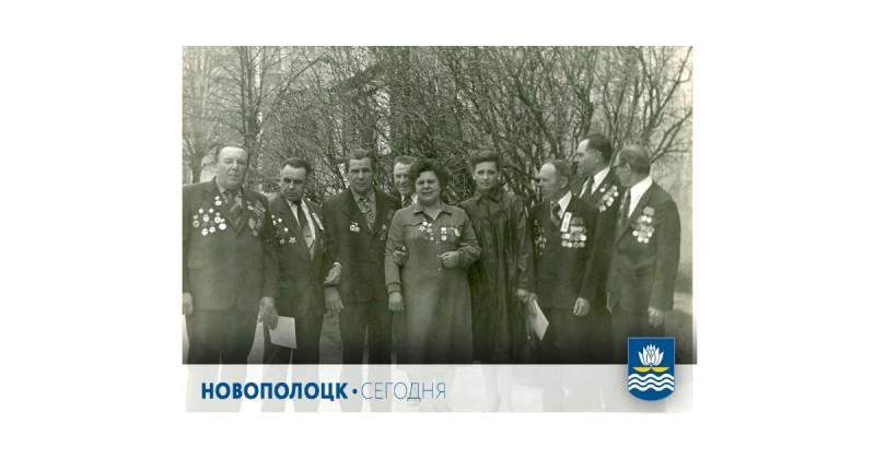 Ветераны-фронтовики НПЗ, 80-е годы: Сергей Кулёв крайний слева
