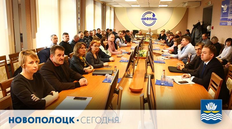 Денис Карась_встреча на Нафтане