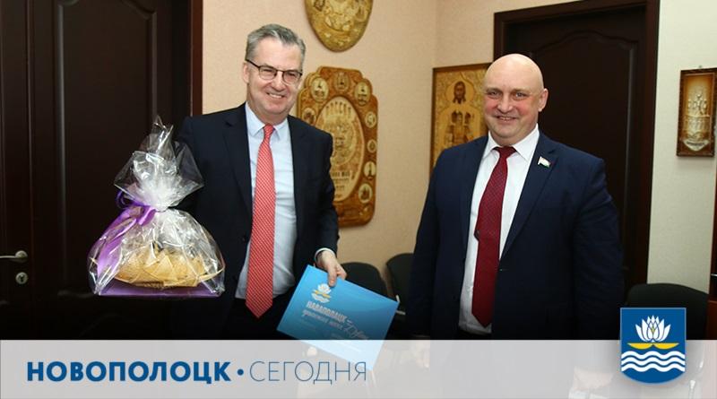 Дирк Шубель и Дмитрий Демидов