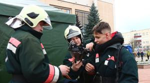 Официальное открытие акции «Единый день безопасности» в Новополоцке прошло в формате праздника