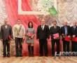 Заслуженные награды получили новополочане, трудящиеся в сфере бытового обслуживания населения и ЖКХ