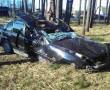 В дачном поселке «Шнитки» водитель BMW-318 не справился с управлением и врезался в придорожное дерево