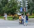 Куда торопятся? Как новополочане переходят дорогу на регулируемых перекрестках