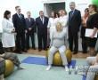 В Новополоцком роддоме открыли новый зал лечебной физкультуры