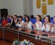 В горисполкоме состоялось торжественное мероприятие по случаю 20-летия телевизионного СМИ Новополоцка «Вектор ТВ»