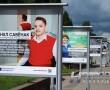 Фотовыставка «Проекты в лицах» представлена в Новополоцке на площадке возле бассейна «Садко»