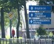 Надпись «Витебск» на дорожном знаке в Новополоцке по Молодежной в районе ТЦ «Космос» восстановлена