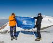 Флаг Новополоцка над вершинами Эльбруса. История ребят, которые покорили самую высокую точку Европы