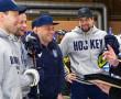 Мастер-класс и автограф-сессию в обновлённом Ледовом дворце провели «звёздные» воспитанники новополоцкой школы хоккея