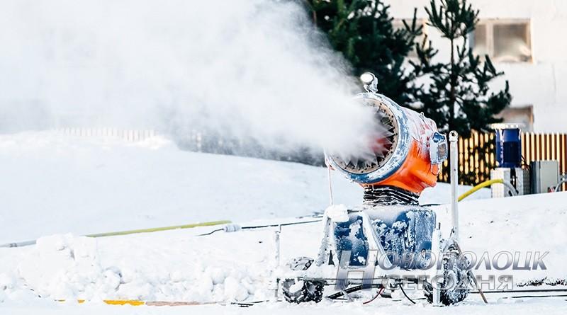 pushka generiruet sneg