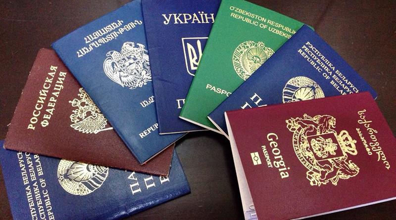 паспорта инстранные