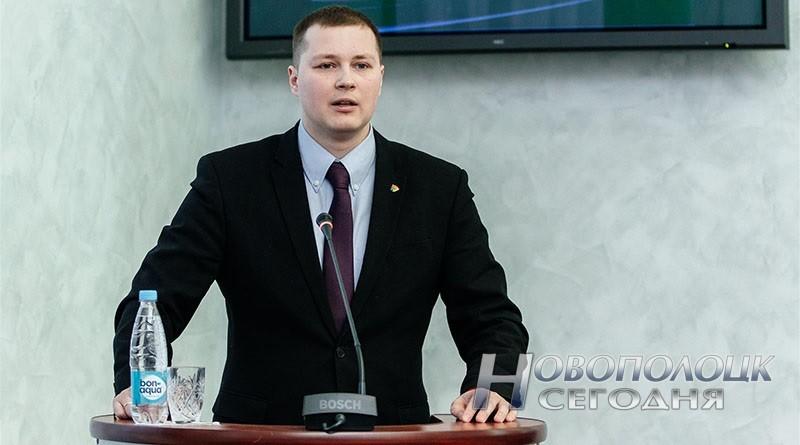 Александр Прохоров избран первым секретарем БРСМ