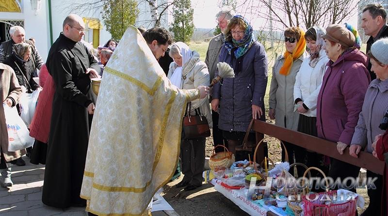 расписание служб в церквях Новоплоцка и Боровухи на Пасху