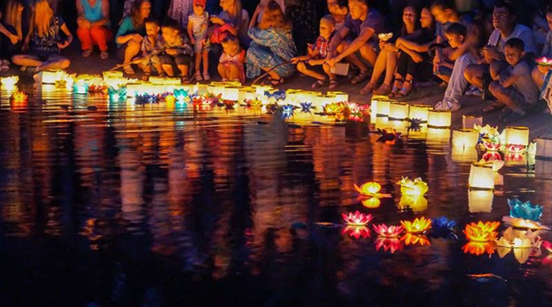 в полоцке пройдет фестиваль водных фонариков