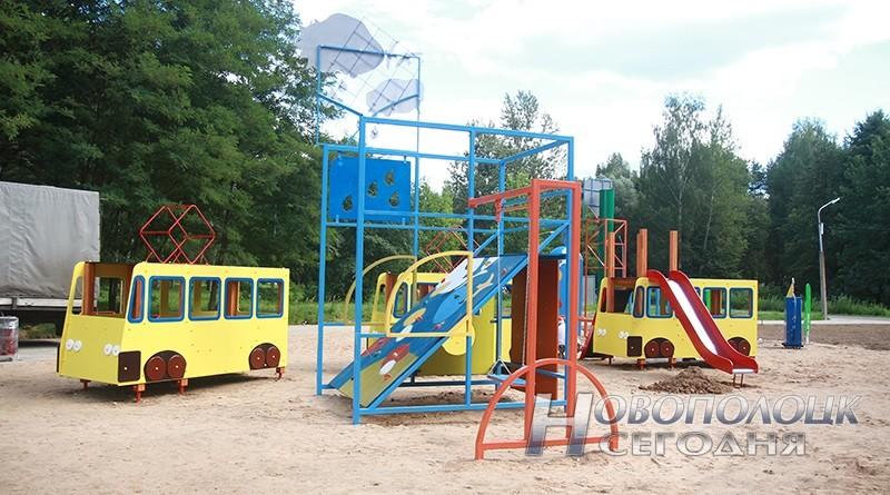 mini-gorod v parke Novopolocka (1)