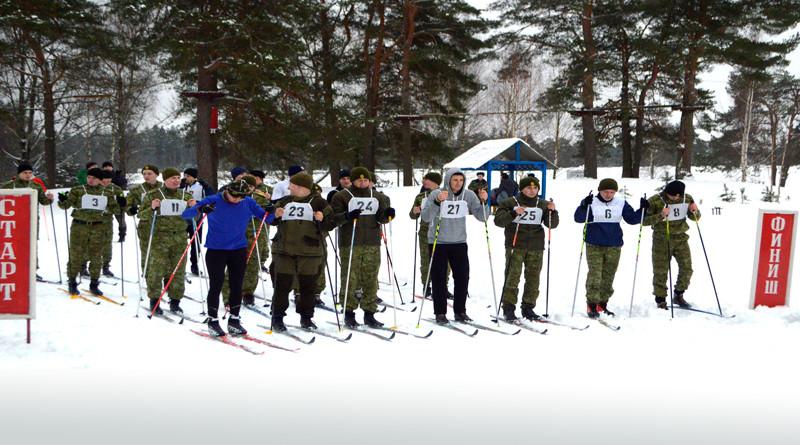 Лыжные гонки среди полоцких пограничников