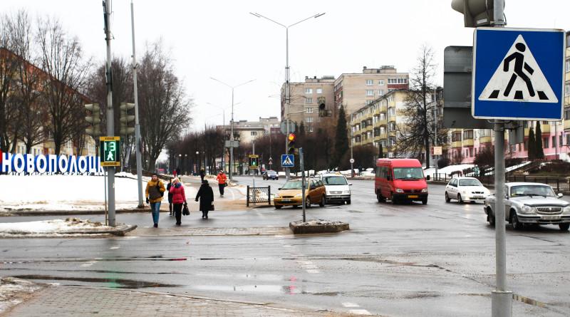 Пешеходный переход на Калинина