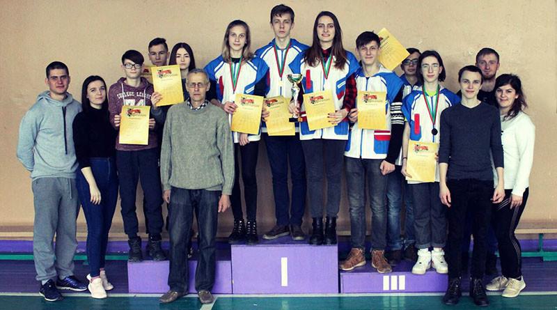 Новополоцкая команда победителей