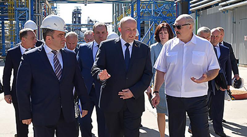 Александр Лукашенко в Новополоцке1