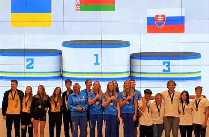 Команда Беларуси — чемпион Европы до 19 лет в водных лыжах за электротягой. Серебро у команды Украины, бронза у команды Словакии.