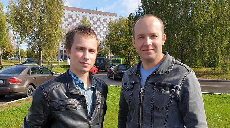 Евгений Шостак и Сергей Касецкий