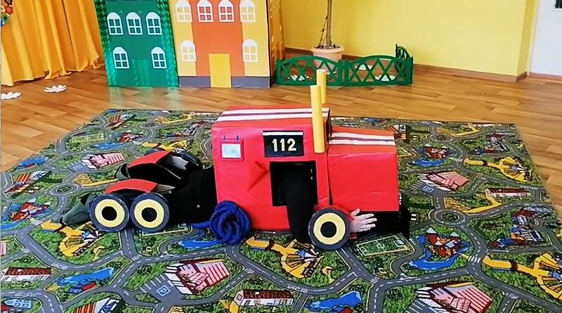 пожарная машина-трансформер