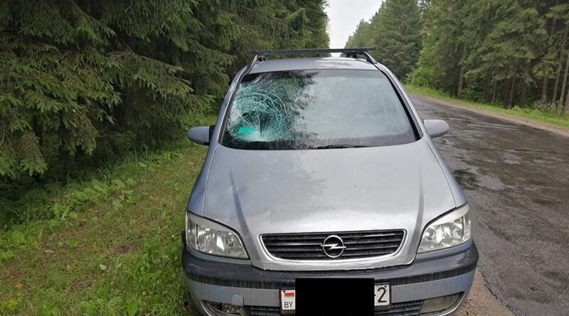 ДТП автодорог Полоцк – Россоны
