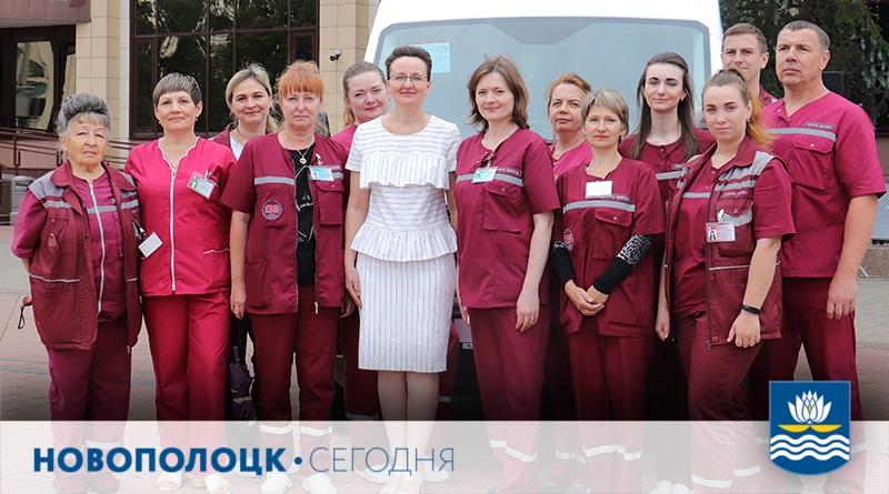 Коллектив скорой помощи_Новополоцк и Шеменкова