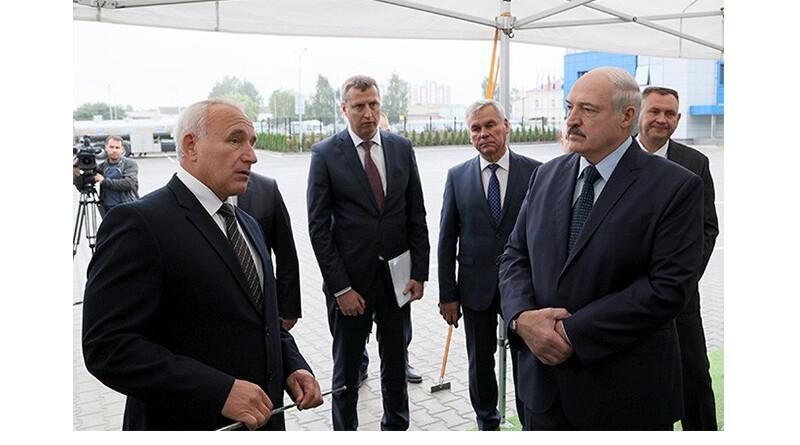 А.Лукашенко в Орше