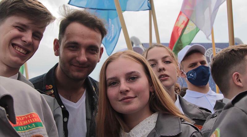 Екатерина Шуман и молодежь