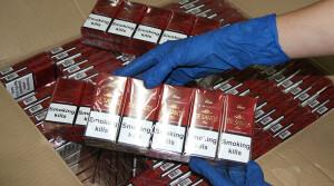 Сотрудники таможни изъяли партию сигарет стоимостью 230 тысяч долларов США