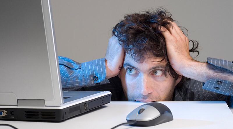 стрес через интернет