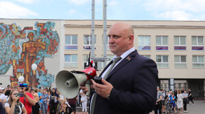 О чем говорили на встрече с руководством Новополоцка горожане