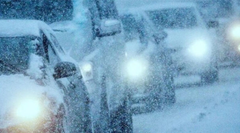 снегопад_