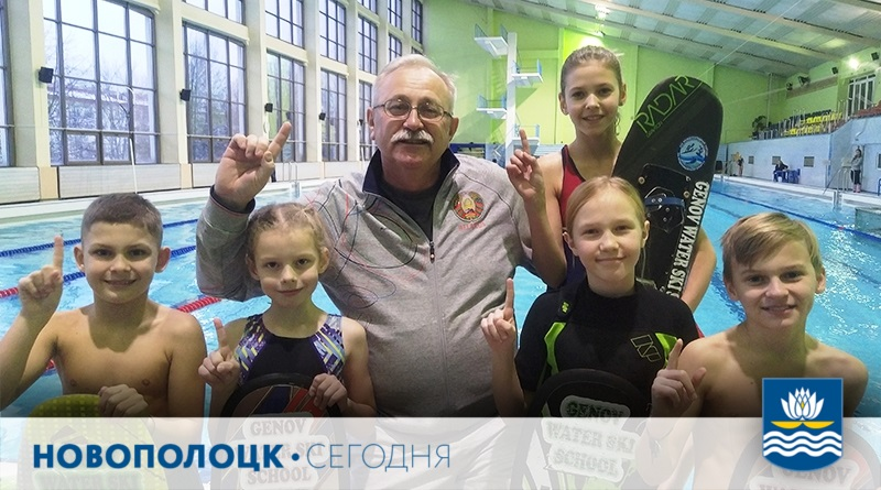 Аркадий Генов и дети