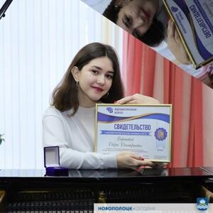 Новополочанка Дарья Воронова – колоритная вокалистка с ангельским голосом