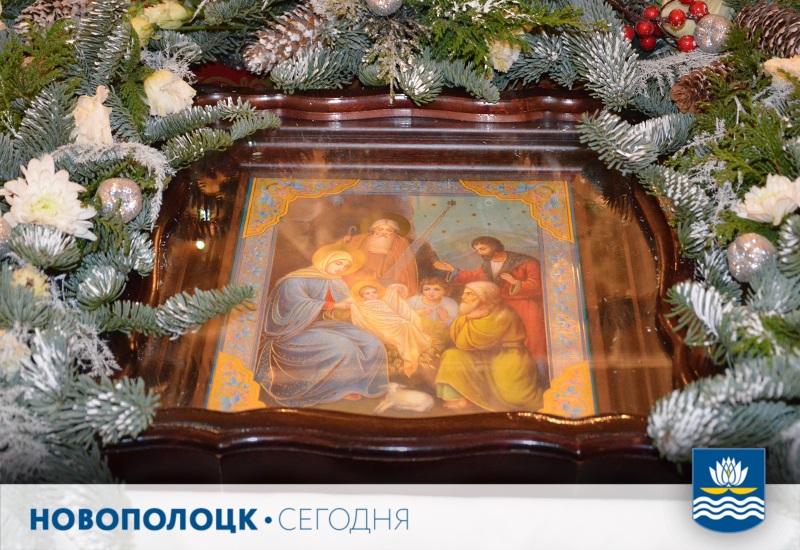 Поставь свечу3_Рождество Христово икона