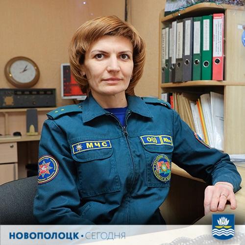 Татьяна Тискович_диспетчер МЧС
