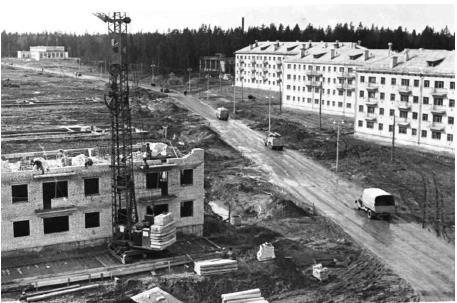 Улица Нефтяников 1960 год