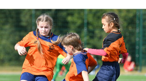 В первой гимназии Новополоцка в рамках реализации проекта «Мой школьный футбольный клуб» появился новый спортивный инвентарь
