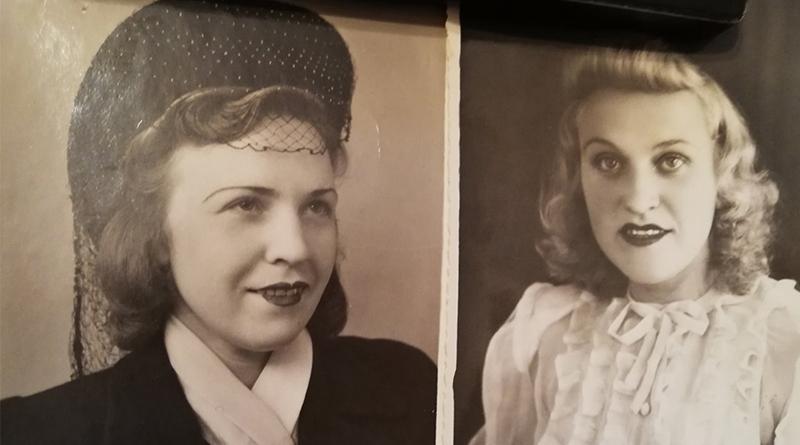 Дочери Полины Костецкой Ирина и Лариса
