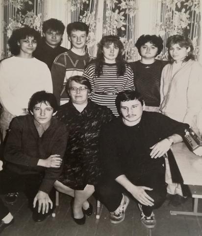 Зинаида Третьякова со своими учениками1