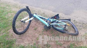 В Новополоцке произошло ДТП с участием велосипедиста