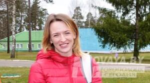 Трехкратная чемпионка Паралимпийских игр Светлана Сахоненко встретилась с воспитанниками новополоцкого УОРа (+фото)