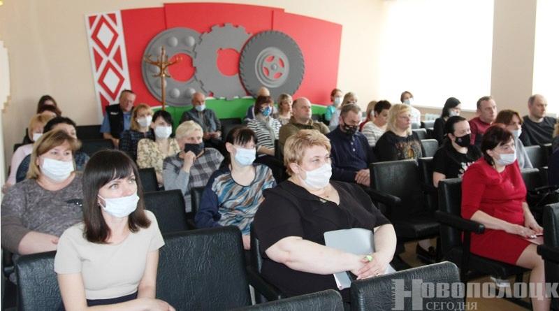 встреа с трудовым коллетивом_Новополоцкая спеавтобаза1