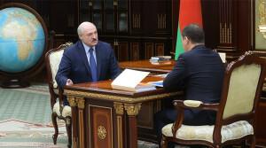 Работа экономики, ответ на санкции, развитие чернобыльских территорий – Лукашенко принял с докладом Головченко