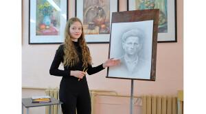 История героя с портрета юной новополочанки Анастасии Синдревич