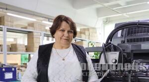 40 лет в профессии. Про ведущего технолога новополоцкой типографии Лидию Калино